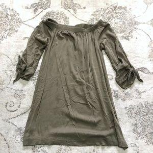 83ba176f1ef Michael Stars Off Shoulder Cotton Dress